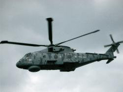 EH101 Merlin Helicopter