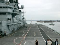Ark Royal, Flight Deck facing the stern