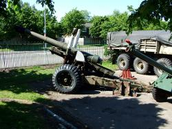 British 5.5 inch medium gun.