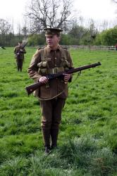 Firepower through the ages - WW1 British Short Magazine Lee Enfield (SMLE) Rifle - MUR3_ftasmle