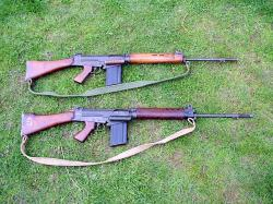 British SLR rifles