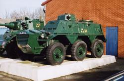British Saracen Armoured Personnel Carrier