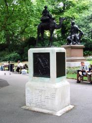 The Imperial Camel Corps Monument, London