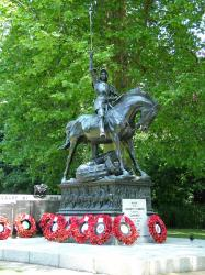 Cavalry regiments Memorial, London