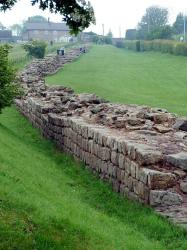 Hadrians Wall - the Broad Wall