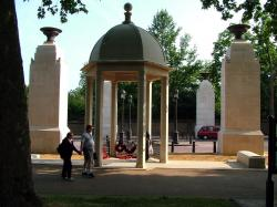 Indian Sub-Continent, Africa and the Caribbean Memorial Gates, London.