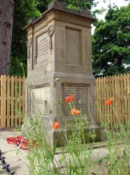 War Memorial, Leeman Road, York.