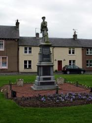Newcastleton Village War Memorial.