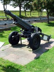 The Oto Melara 105mm pack Howitzer
