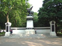 Royal Artillery South Africa Monument, London.