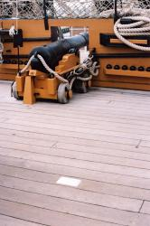 HMS Victory, the Quarterdeck